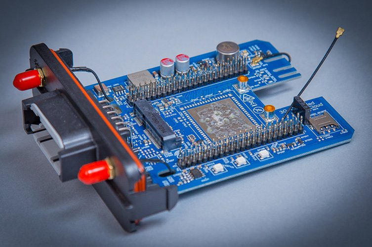 BeagleBone Enhanced Automotive Cape - GPS & CAN Bus V4 web